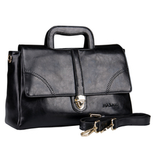 Fashion Business women tote bag genuine leather office bags