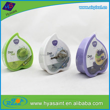 Various design custom aromatic gel air freshener