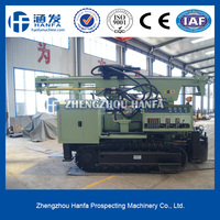 for water well drilling, crawler mounted HF200Y foundation drilling equipment