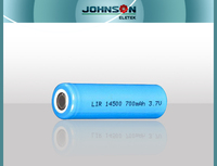 14500 lithium ion battery 800mah