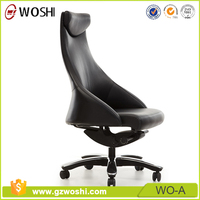 Classic adjustable Leather high back boss/ Executive office chair Upholstered seat chair Guangzhou W0-A