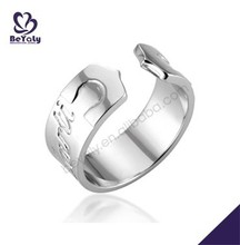 silver jewelry ring wholesale beautiful adjust finger ring