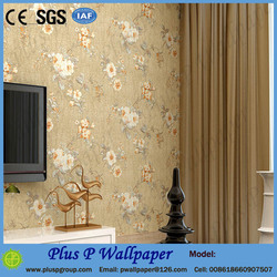 Home living room design nature flowers design murals wallpaper