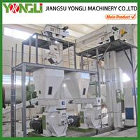 High efficiency ring die biomass pellet mill