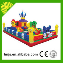 Outdoor playground game bouncing castles inflatable bouncy castle