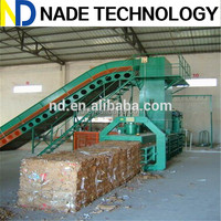 cardboard baler, horizontal hydraulic press balers, cardboard baling press machine