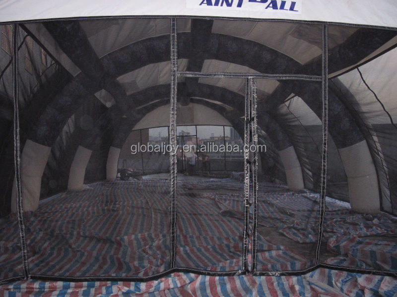 inflatable paintball bunkers/paintball nets/inflatable paintball field