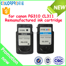 Best remanufactured ink cartridge PG310/CL311 for Canon PIXMA iP2702 MP240 MP250 MP270 MP280 MP480 MP490