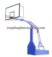"Basketball Equipment Official Basketball System with 54"" Basketball Backboard Extension Basketball Shelf"