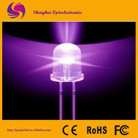 Promotion High Brightness Multicolor Through Hole Round Lighting Emitting Diode Led Diode3mm/5mm/8mm Uv