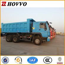 SINOTRUK Left Hand Driving Strong Cargo Box 10 Wheel HOWO Dump Trucks in Stock