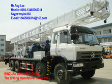 Diesel Power Type and Rotary Drilling Rig Type Truck mounted water well drilling rigs