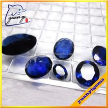 synthetic corundum stone blue corundum