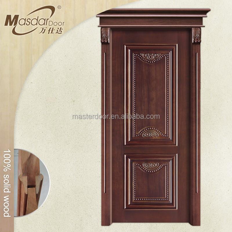 Cheap bedroom wooden decorative pattern interior door for Cheap interior doors