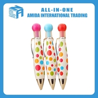 2015 high quality creative and fresh and lovely modelling of bowling ball pen
