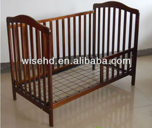 (W-BB-88) 3 in 1 wooden baby cot