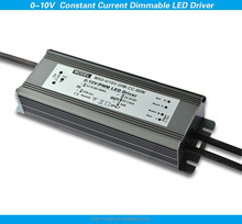 Waterproof ip67 pwm dimmable led dimmer 80W constant current 0-10V compatible led driver CE RoHS approval