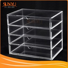 Store Display Cabinet Clear Acrylic Lockable Display Cabinets