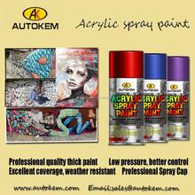 fast dry acrylic Aerosol Spray Paint , Aerosol Spray Can, all purpose spray paint, art paint, multi purpose spray paint