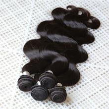 aliexpress body wave wholesale Brazilian virgin human hair sew in weave beauty 100 % remy human hair extension