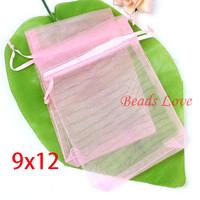 Упаковочные пакеты Beads love 100 Lightpink , 9CMX12CM 9cm*12cm