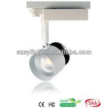 LED Track Spotlight for shops led track spotlight LED Ceiling track Light SAA C-tick CE RoHS approved --- RISE Lighting Felisa