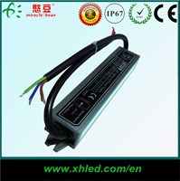 Waterproof IP67 used for led strip light power ac/dc 12v 20w led switching power supply