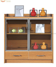 HY-C09 -10 modern office coffee cabinet design, coffee shop cabinet