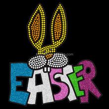 bling bling rhinestone case for samsung galaxy tab Easter rabbit