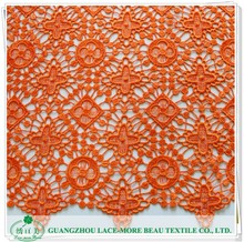 New Top Fashion Beautiful cord lace orange