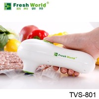 Snack packing hand held portable food saver household vacuum food storage container pump