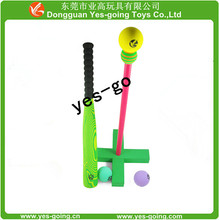 eva wood line cheap foam baseball bat, children's safe sports toys