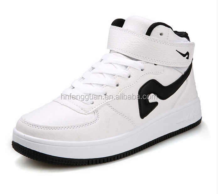 New Fashion High-top Mens Casual Men's and Women's Winter Students Dance Flat Shoes buy shoes direct from china