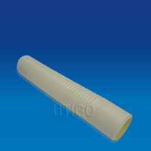 Plastic water drain system flexible hose pipe