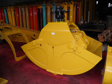 360 degree rotating hydraulic clamshell Bucket for excavator