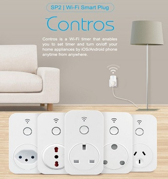 Broadlink sp3s us standard home automation system energy saving power meter wifi smart plug - Home automation energy saving ...