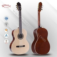 """[WINZZ] Hot Sale 39"""" Spruce plywood Linden plywood Rosewood Classic Guitar Prices (AC965H)"""