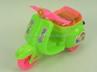 Cartoon Pull Line Toy Mini Motorcycle
