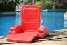 China Factory Supply Super Soft Fabric Adjustable Pool Float Recliner Chair and Swimming Pool Floating Chair