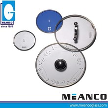 44cm Stainless Steel 201 Ring Glass Lid for Rice Cooker