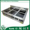 6 burner electric cooking plate
