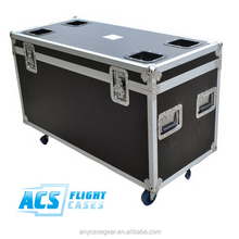 Black mobile flight case/ATA Road Trunks/SMALL ATA UTILITY CASE WITH PICK-&-FIT FOAM
