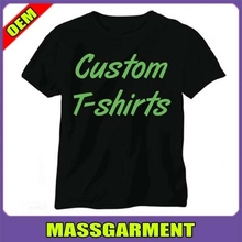 2015 china manufacturer plain black name brand t-shirt custom printing t-shirt