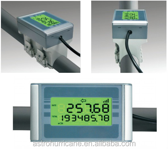 Electronic Water Flow Meter : Digital clamp on water flow meter buy