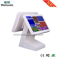 New style supermarket touch screen pos cash register 64GB memory