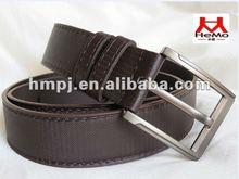 Italian designer new design alloy pin buckle belts