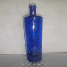 food grade refillable vodka large glass bottles 500/750/1000ML