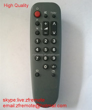 High Quality 22 Keys New ABS Gray Mini AV/TV Remote Control for Panasoni T Shape with Clock Button 2*AA 1.5V Big Batetry