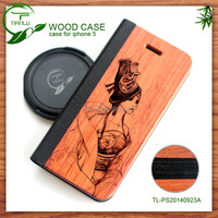 Imitation Wood Grain Phone Case For apple iphone 6/6+ from China