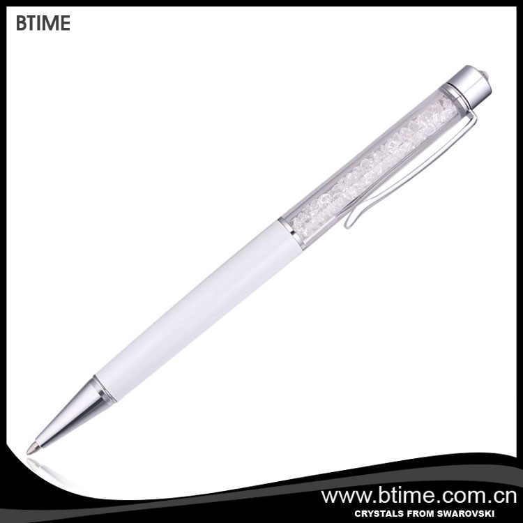 Vente chaude stylo à bille/cadeau en cristal promotion stylo cristaux de swarovski